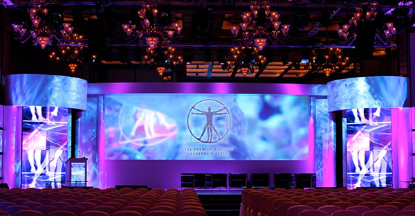 Video Wall Design planar directlight series led video wall system Montreal Laser Productions
